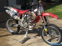 Honda CRF 450 dirt bike