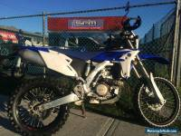 Yamaha WR450F 2012 Model Motorcycle Dirtbike WR 450 LAMS Off Road Trail Bike NR