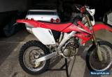 Honda CRF 250 x 2008 for Sale