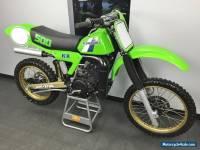 1983 Kawasaki KX
