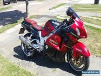 1999 SUZUKI GSX 1300 RX RED