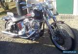 1992 Softail Springer with 100 cu Rev Tech for Sale