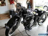 1951 Harley-Davidson WL 45 Ci Flathead
