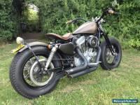 Harley Davidson bobber 2005 springer sportster