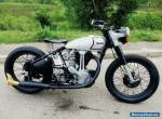 1947 NORTON MODEL 50, ES2, BIG FOUR, RARE BIKE, SHIPPING FREE FOR ANY COUNTRY for Sale
