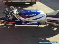 Suzuki Motorcycle gsx r-600 1996