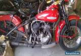 1946 Harley-Davidson Other for Sale