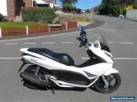 2011 Honda PCX 125cc Scooter White