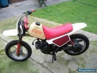 PW50 YAMAHA MOTORCYCLE