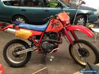 XR600R HONDA Motorcycle 1985