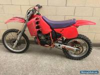 Honda CR250 1988 Evo MX Barn Find Project