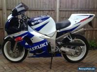 2001 SUZUKI GSX R600 K1 WHITE/BLUE