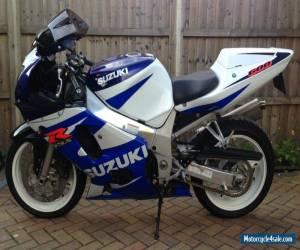 2001 SUZUKI GSX R600 K1 WHITE/BLUE for Sale