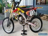 RMZ250 2009 motocross bike