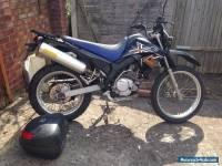 Yamaha XT 125 R with GIVI rack and topbox
