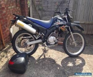 Yamaha XT 125 R with GIVI rack and topbox for Sale