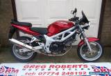 2001 SUZUKI SV 650 K1 RED for Sale