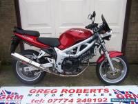 2001 SUZUKI SV 650 K1 RED
