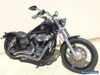 2012 Harley Davidson Street Bob Gloss Black with Only 21,000kms
