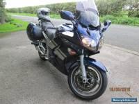 FJR1300 2006 GEN 2 MODEL BLUE/SILVER FACTORY PANNIERS HEATED GRIPS