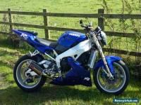 YAMAHA R1 1998 Streetfighter Blue Low Miles 23K Motorbike Bike