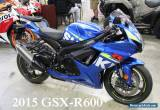 2015 Suzuki GSX-R for Sale