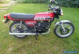 Yamaha RD250 D 1977 very original, twinshock, vintage, classic, not barn find for Sale