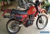 Honda XL600R 1983 Model Road Trail Bike for Sale