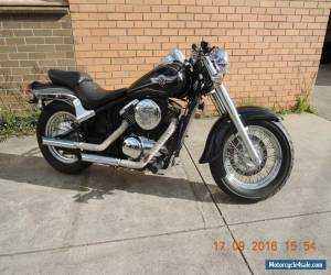 KAWASAKI VULCAN VN800 CLASSIC WITH CUSTOM MODS GREAT LOOKING CRUISER BOBBER LOW  for Sale
