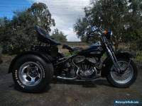1963 HARLEY WLA SERVI-CAR CUSTOM, AWESOME CONDITION FOR AGE! STARTS AND RUNS!