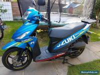 SUZUKI UK 110 ADDRESS GP BLUE 2015