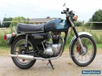 Triumph Tiger 750 Year 1978 with original dutch papers