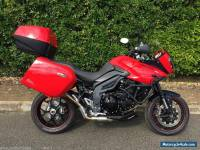 TRIUMPH 1050 TIGER SPORT ADVENTURE BIKE * RED * NO RESERVE * LOW MILES 2015/15