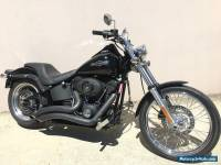 2007 Harley Davidson Night Train Gloss Black with Only 25,000kms Softail FXSTB