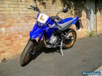 2011 YAMAHA XT 125 X BLUE learner supermoto 125cc