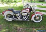 harley davidson 2000 heritage softail  aztec orange and silver firm price for Sale