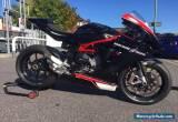 mv agusta track road race bike f3 800 black superbike supersport superstock for Sale