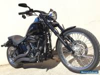 2013 Harley Davidson Custom Softail with 6000kms Inverted Front End Night Train