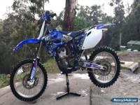 Yamaha yz 250 f Motorcycle