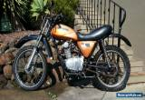HONDA XL100 TRAIL 1974 FULLY REGISTERABLE OR CLUB REG PROJECT COMPLIANCE PLATE  for Sale