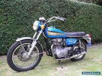 1972 Yamaha XS650 UK reg low miles tax exempt