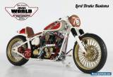 """HARLEY DAVIDSON SOFTAIL """"ENVY"""" 5th Place at World Championship IN STOCK! for Sale"""