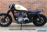One of a kind Harley Davidson 883 Cafe Racer for Sale