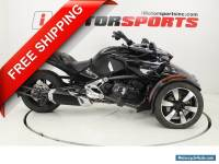 2015 Can-Am Spyder F3-S 6-Speed Semi-Automatic (SE6)