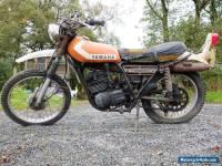 Classic Yamaha DT 250 enduro