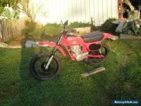 VMX  XR80  HONDA 1980