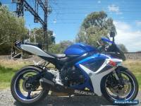 2007 SUZUKI GSXR600, FAST, LIGHT & RESPONSIVE SPORTS BIKE, PRICED TO SELL
