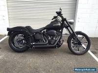 2009 Harley Davidson Custom Softail with 7500kms Inverted Front End Night Train