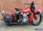 knucklehead 1947 FL for Sale