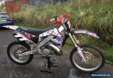 Honda cr 250 year 2000 for Sale